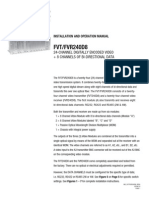 ComNet FVT240D8S1 Instruction Manual