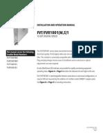 ComNet FVT1001M1 Instruction Manual