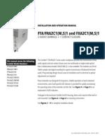 ComNet FTA2C1M1 Instruction Manual