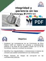 Integridad y Transparencia en Las Compras Publicas