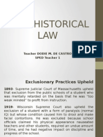 SPED HISTORICAL LAW.pptx