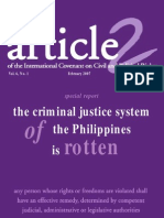 Criminal Justice System in the Phil