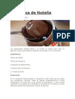 Marquesa de Nutella