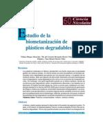 Estudio de la metanización de plásticos