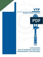 Bomba Vertical Pump VTP IOM Manual