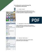 Correo Configurar en iPhone iPad