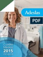 Cuadro Médico Adeslas Zaragoza 2015