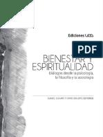 Libro Espiritualidad Bienestar. Diálogos desde la psicología, la filosofía y la sociología. (Duhart Sirlopú) 2015)