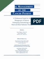 Oral Management for Cancer
