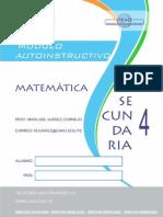 Matemática 4 Sec II Bim 2015