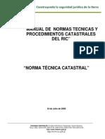 26 AGOSTO 2008 3.  NORMA TÉCNICA CATASTRAL..pdf