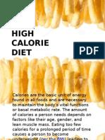 High Calorie