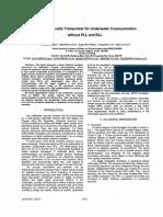 A Digital Acoustic Transceiver for Underwater Communication_2003_I3E