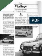 Vierlinge - Die Triumph-Modelle TR 4 und TR 4A