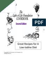 Low Iodine Cookbook