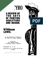 Lewis, Wyndham - The Tyro, 1