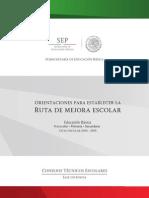 orientaciones ruta mejora escolar educbasica 2014-2015