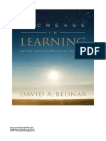 Increase in Learning Elder Bednar