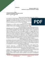 Susana Cogno Derecho a Huelga 2015