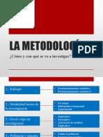 La Metodologia de la investigacion