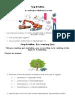 Pulp Friction. Exercise English