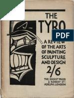 Lewis, Wyndham - The Tyro, 2