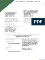 SCO Grp v. Novell Inc - Document No. 301