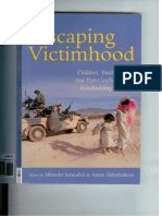 Conflict is a Preventable Disease - DDavis Chapter in Escaping Victimhood