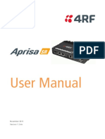 Aprisa SR User Manual 1.3.4 (1)