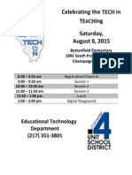 schedule -2015 - bottenfield