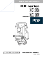 Manual de estacion total sokkia CX