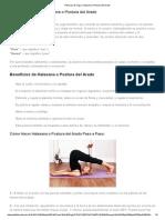 Posturas de Yoga_ Halasana o Postura Del Arado Con y Sin Ayuda