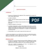 Apuntes Relevantes Obligaciones y Contrato