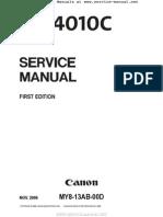 CANON DR-4010C Service Manual.pdf