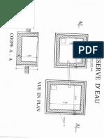 Plan Reserve d'Eau St-Louis