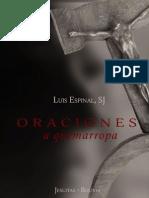 Luis Espinal,SJ, Oraciones a Quemarropa