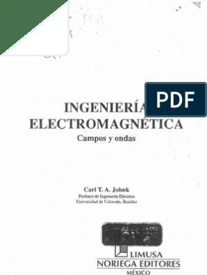 SOLUCIONARIO TEORIA ELECTROMAGNETICA JOHNK DESCARGAR