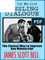 How to Write Dazzling Dialohjkhkjgue the Fastest Way to Improve Any Manuscri