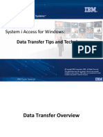 Systems i Software Access PDF Dataxfer