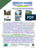 Filtros Ceta - Catálogo Completo - Edición 2013