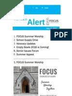 FOCUS Alert - July 17