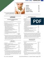 Skincare Formulary 1