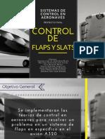 Control de flaps y slats