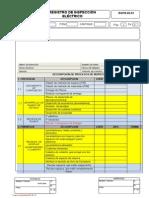 Uezu 0197.15 Formato de Inspeccion Electrica