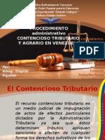 procedimiento contencioso tributario y contencioso de venezuela