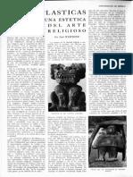 Artes plásticas. En torno a unas estética del arte religioso, de Paul Westheim, Revista de la Universidad de México, núm. 11, julio, 1957.pdf