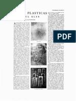 Artes plásticas. Paul Klee, de Paul Westheim, Revista de la Universidad de México, núm. 1, septiembre, 1956.pdf
