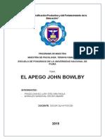 Teoría de Bowlby