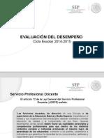Evaluación Del Desempeño EB_EMS