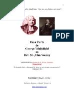 Carta Whitefield Wesley
